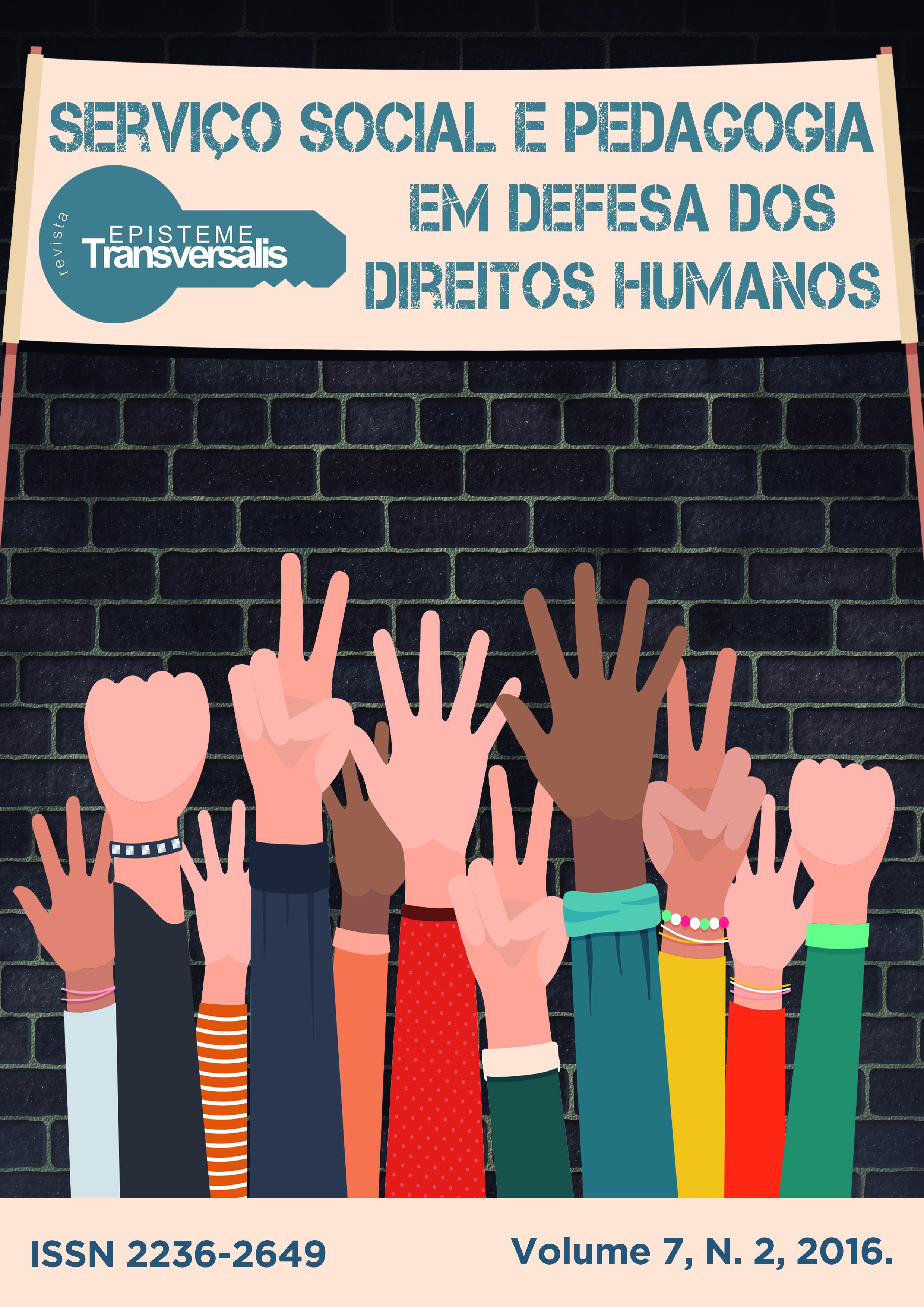 SERVIÇO SOCIAL E PEDAGOGIA EM DEFESA DOS DIREITOS HUMANOS
